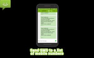 bukl mass sending sms
