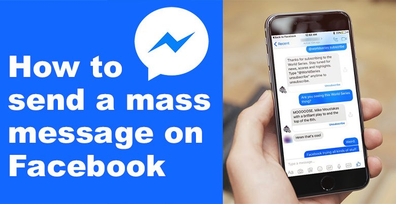 Send Mass Messages on Facebook