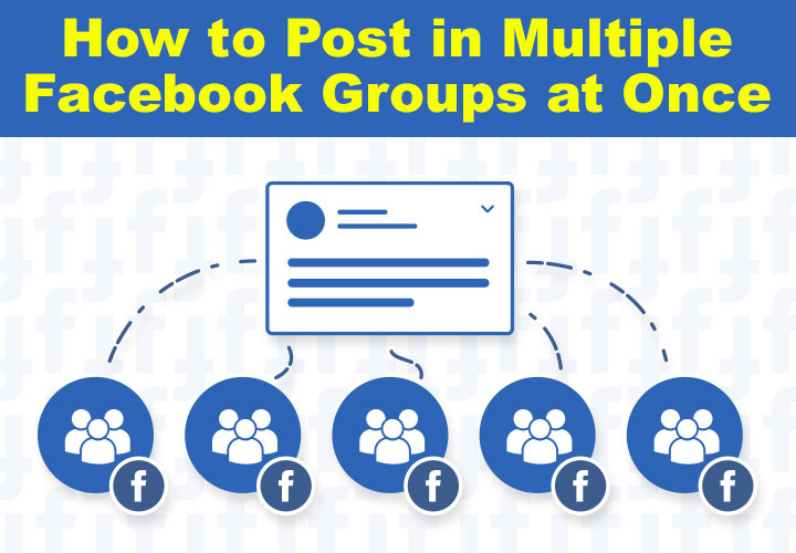 autopost in multiple facebook groups at once
