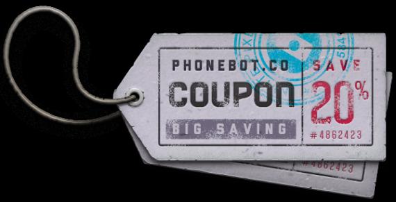 PhoneBot coupon code