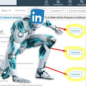 How to Mass invite Linkedin members?