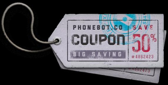 Phonebot discount coupon